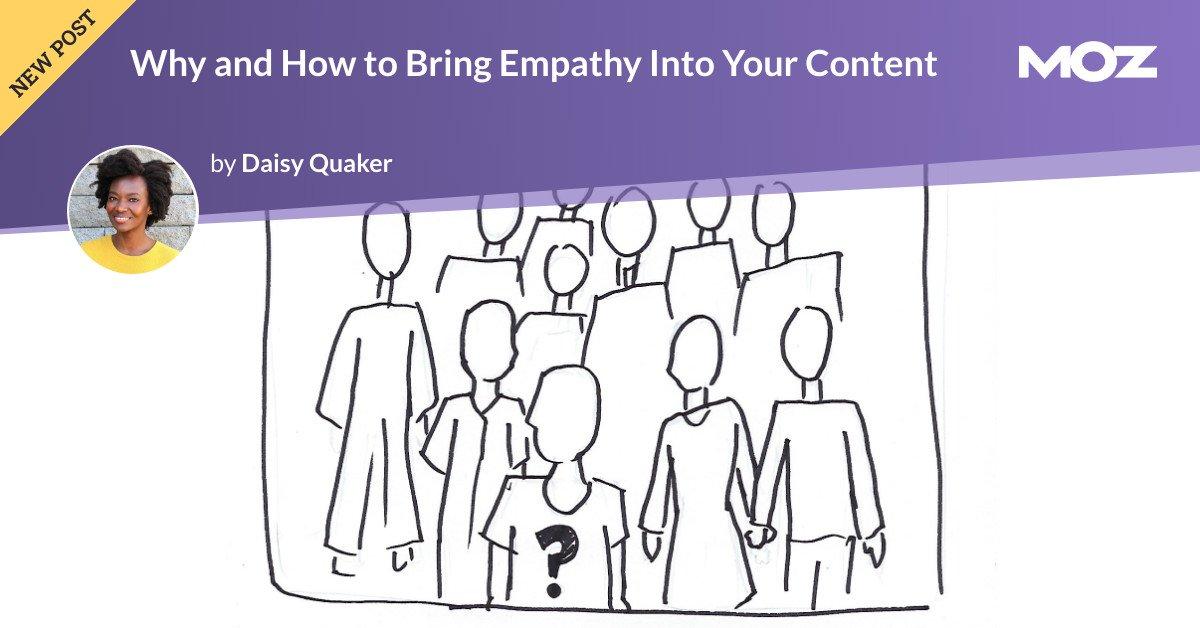 چرا و چگونه می توان همدلی را در محتوای خود وارد کرد