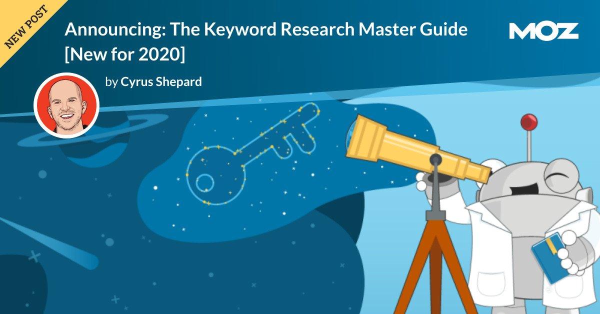 اعلام: راهنمای کارشناسی ارشد تحقیقات کلید واژه [New for 2020]