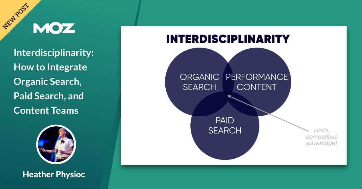 بین رشته ای: نحوه ادغام جستجوی ارگانیک ، جستجوی پرداخت شده و تیم های محتوا