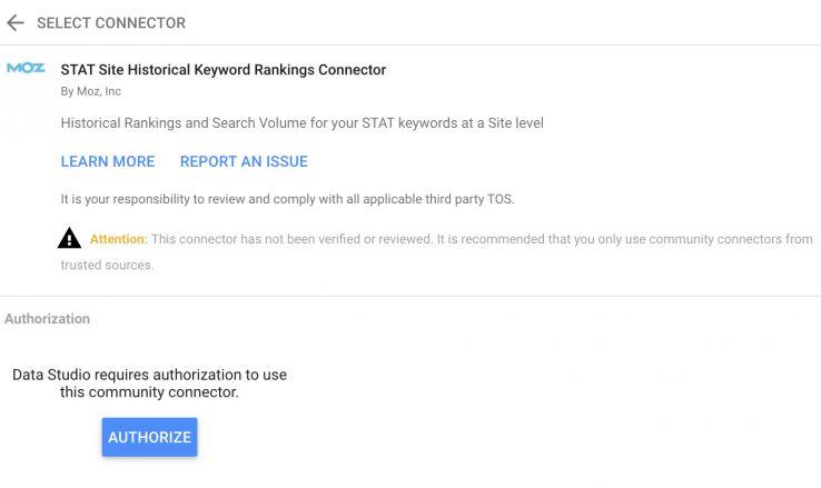 عکس 6 اتصال دهنده برای گزارش دادن به شما ادویه: معرفی اتصالات استودیوی Google Data برای STAT