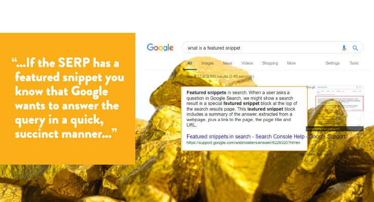 عکس طلا در SERP های آنها وجود دارد: استخراج اطلاعات مهم SEO از نتایج جستجو