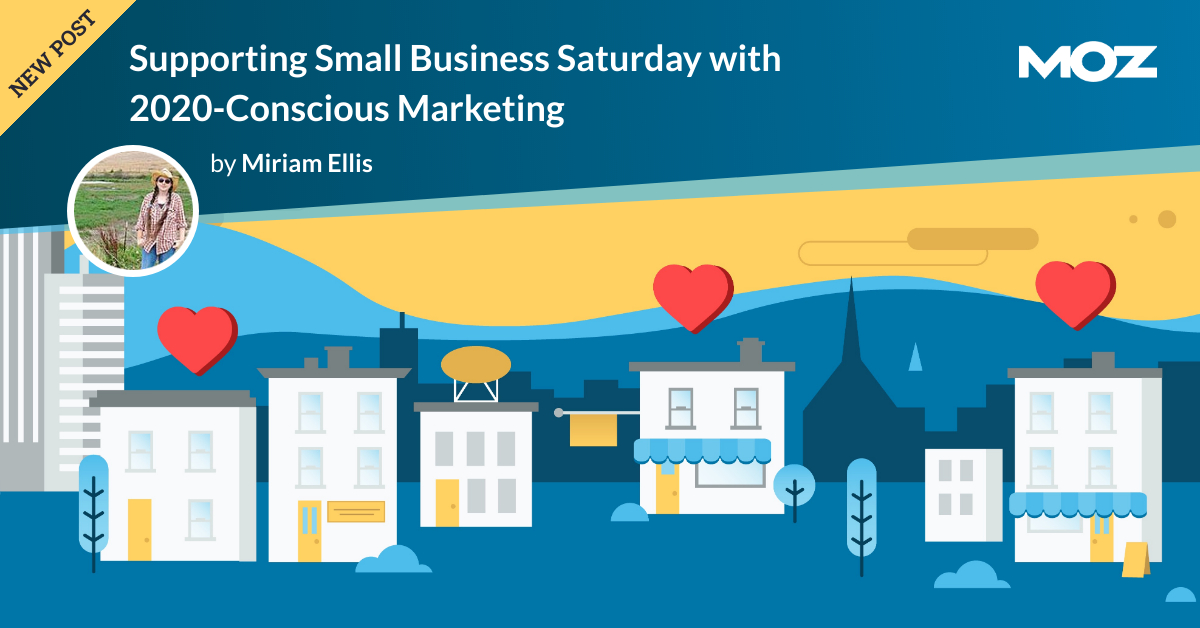 حمایت از تجارت کوچک شنبه با بازاریابی آگاهانه از سال 2020