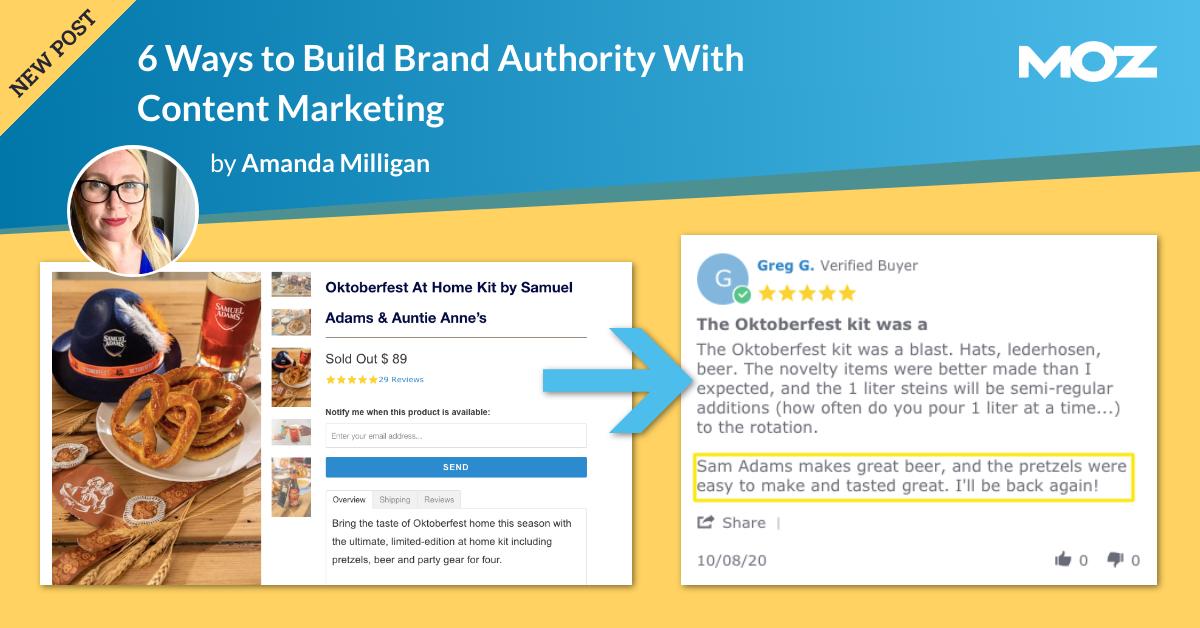 6 راه برای ایجاد اقتدار برند با بازاریابی محتوا