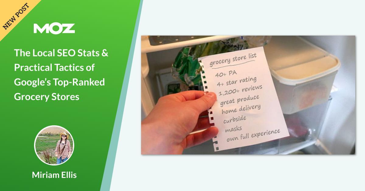 آمار محلی SEO و تاکتیک های عملی فروشگاه های عالی رتبه بندی مواد غذایی Google