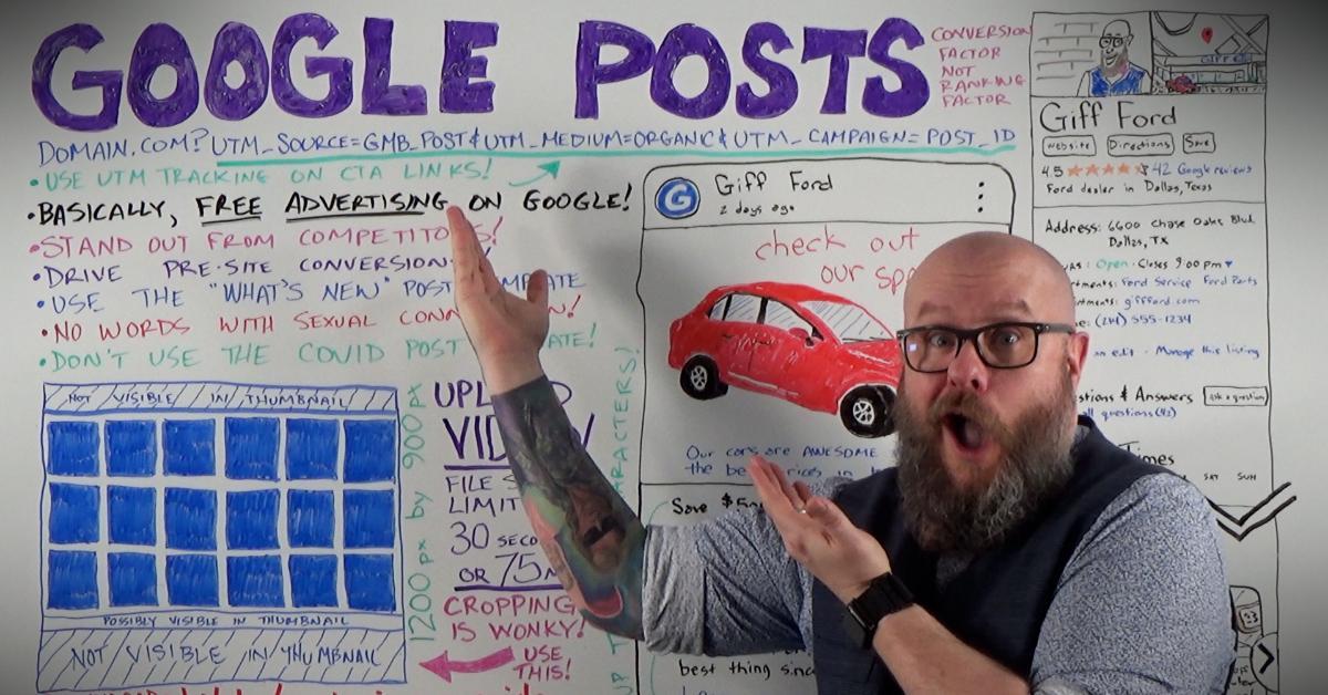Google Posts: عامل تبدیل - عامل رتبه بندی نشده است
