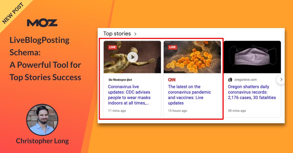 طرحواره LiveBlogPosting: ابزاری قدرتمند برای موفقیت در داستانهای برتر