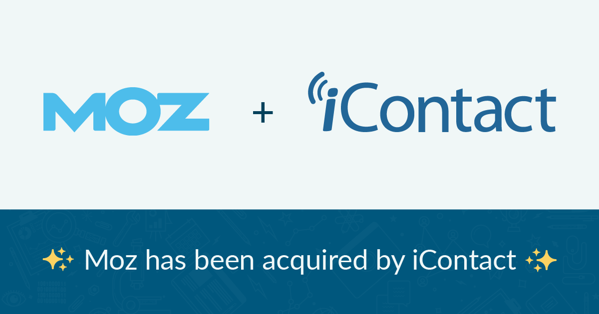 Moz توسط iContact Marketing Corp خریداری شده است