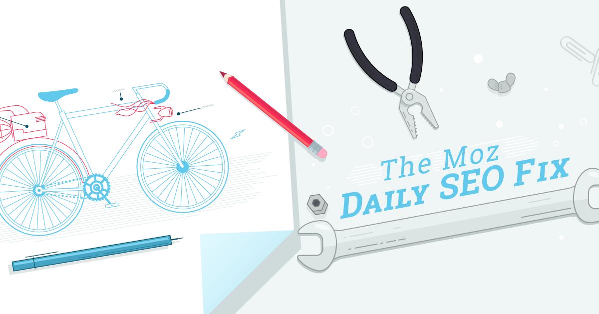 رفع SEO روزانه: حسابرسی مشکلات فنی SEO با Moz Pro