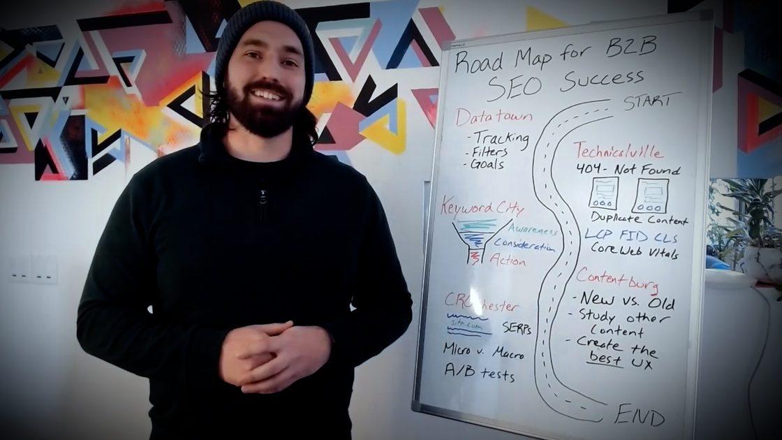 نقشه راه موفقیت سئو B2B
