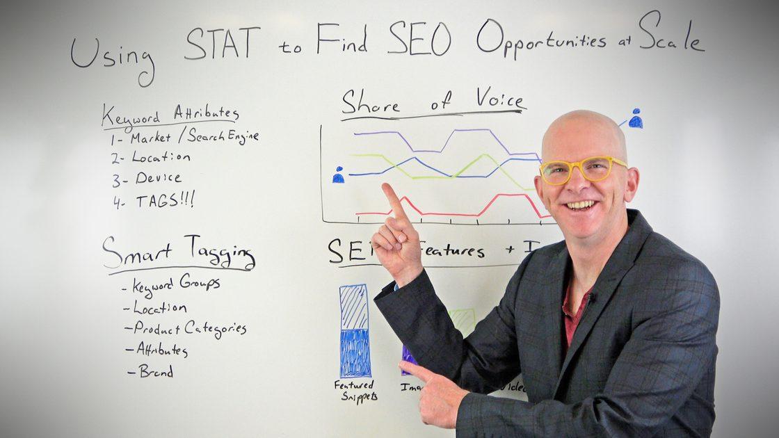 نحوه استفاده از STAT برای یافتن فرصت های SEO در مقیاس